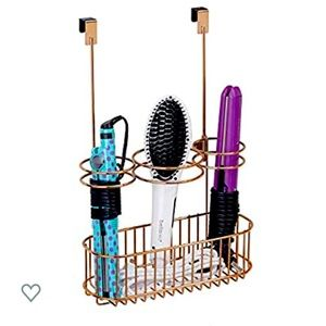 Other - Over Door Bathroom Hair Care Organizer - Rose Gold